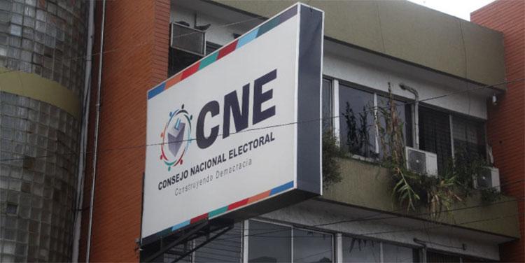 CNE: plazo para presentar impugnaciones de partidos políticos vence el próximo viernes