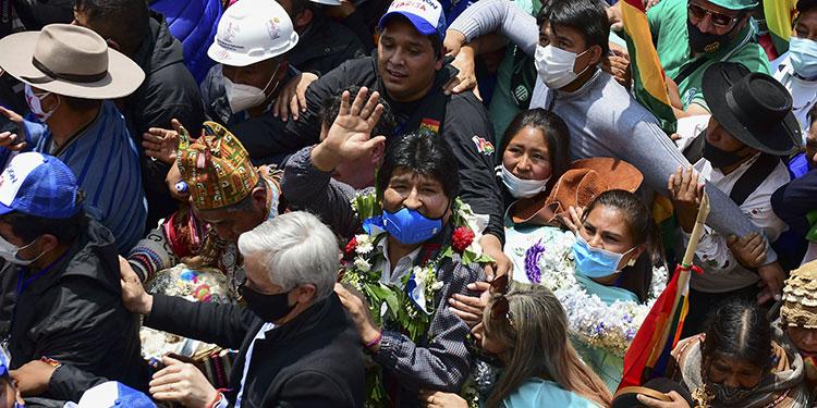 Evo Morales retorna a Bolivia tras un año en el exilio