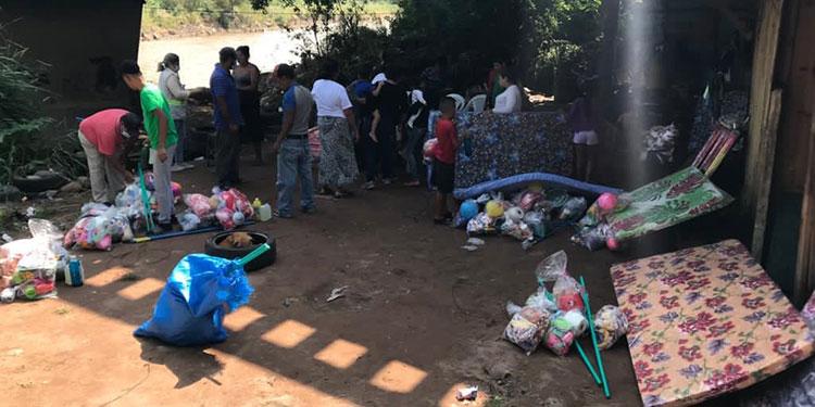 Las familias que viven en los bajos de los puentes ya fueron desalojadas.