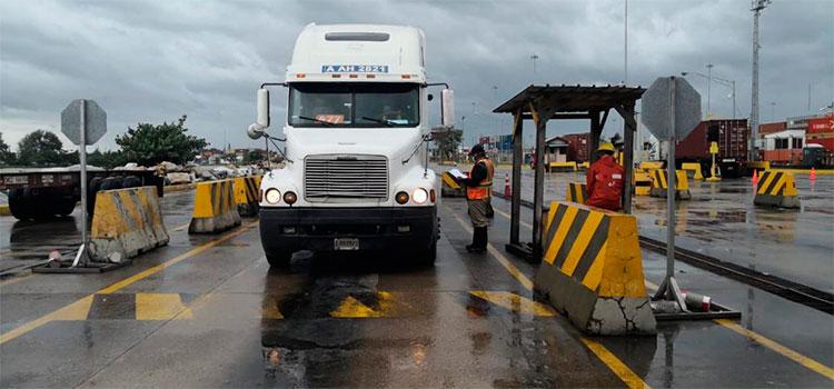 Se restablece de sistema aduanero tras afectación producto de las lluvias