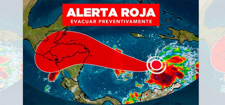 """Estas son las colonias y sectores a evacuar de inmediato por """"Iota"""""""