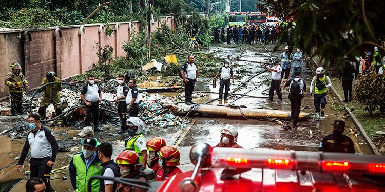 Perjuicios por huracanes en Guatemala superan los $640 millones