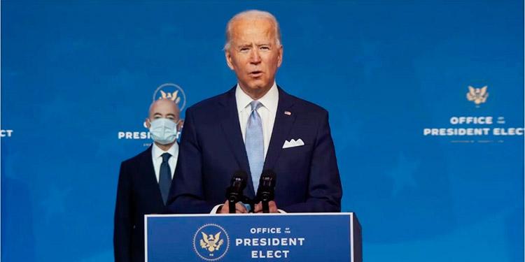 """Biden dice que estadounidenses """"no aceptarán"""" que no se respeten los resultados electorales"""
