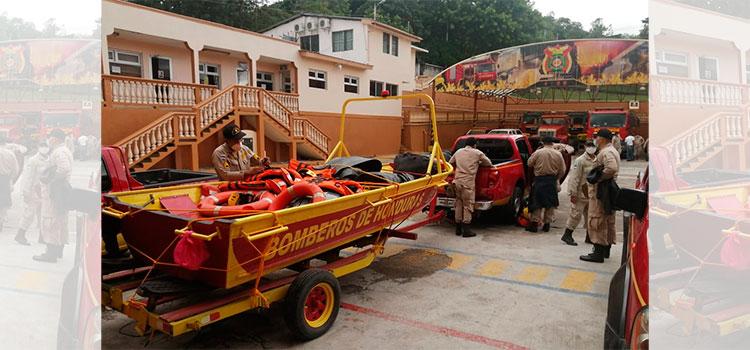 Sale segundo equipo de rescate acuático para el Valle de Sula