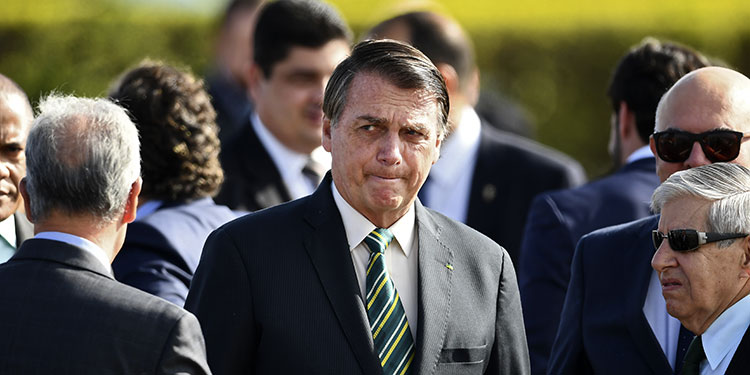 """Bolsonaro: Trump """"no es la persona más importante del mundo"""""""