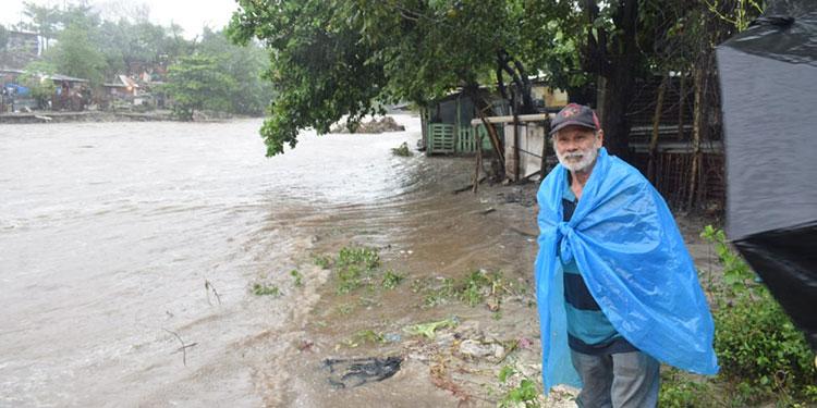 Desbordamientos en el Valle de Sula