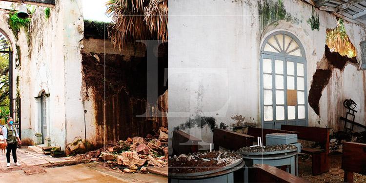 Inicia licitación para restaurar la capilla del cementerio General de Comayagüela