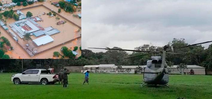 INP envía insumos para privadas de libertad evacuadas en El Progreso