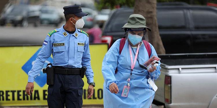Honduras roza los 2.800 muertos y contagios se elevan a 100.804