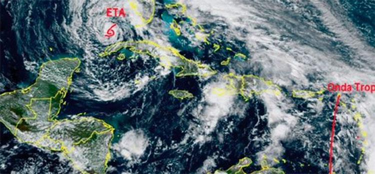 Francisco Argeñal: se mantiene vigilancia sobre una onda tropical ubicada en el Caribe