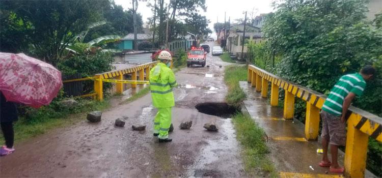 Restringen circulación vial en Colón, Atlántida, Yoro y Olancho