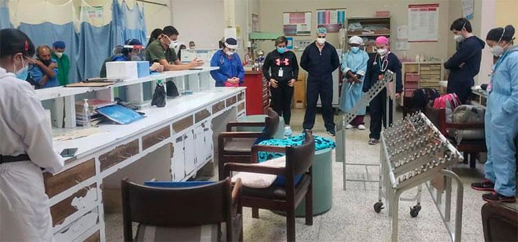 Muere otro médico por COVID-19 en San Pedro Sula