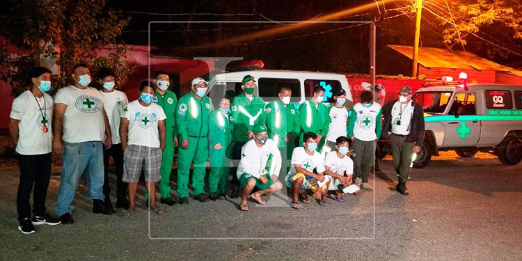 Cancillería agradece a la Cruz Verde Salvadoreña por apoyo durante emergencia por Eta