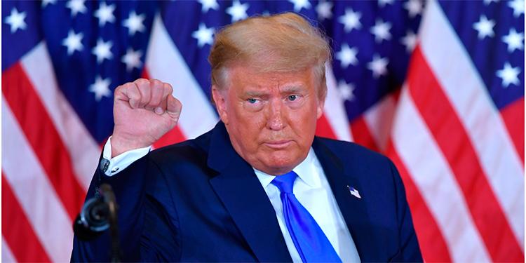 Trump saluda 'gran noticia' sobre la vacuna del coronavirus de Pfizer