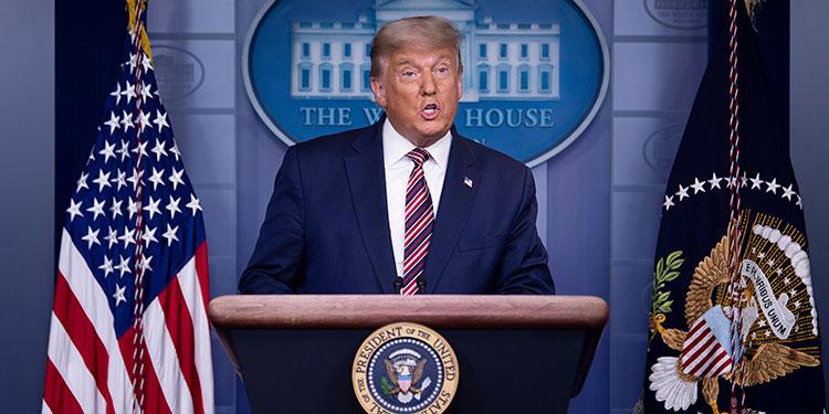 """Trump sostiene que ganaría a menos que le """"roben"""" la elección"""