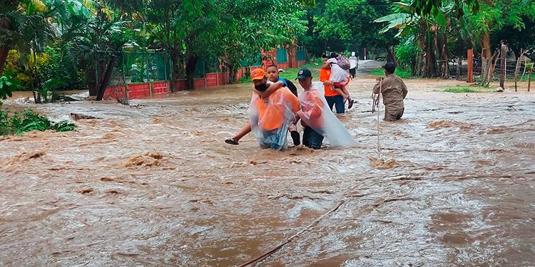 Inundaciones, daños y rescates por huracán 'Eta' en Honduras (Galería/Videos)