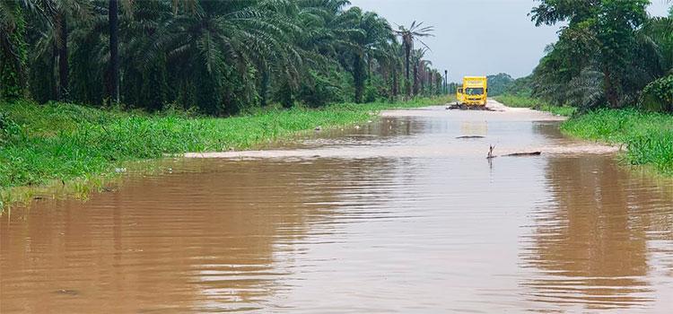 Eta dejaría en Honduras entre 200 y 300 milímetros de lluvia como tormenta