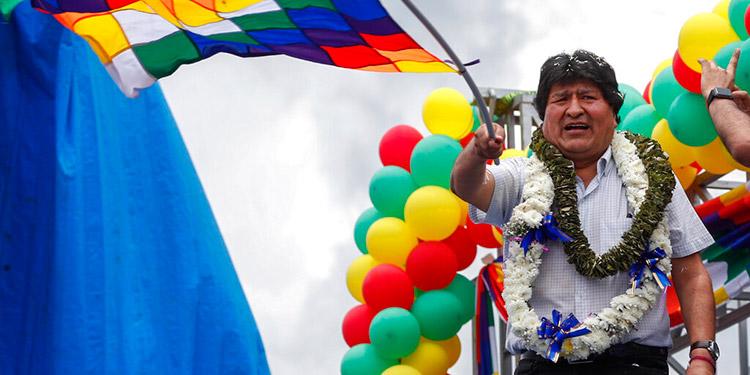Evo Morales retoma el control del mayor sindicato cocalero