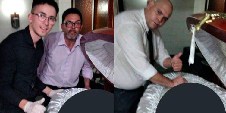 Pide perdón empleado de funeraria que posó con cuerpo de Maradona