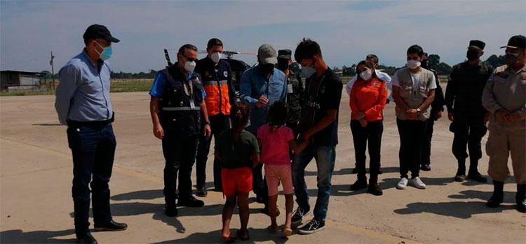 Aeropuerto Ramón Villeda Morales habilitado para ingreso de ayuda humanitaria