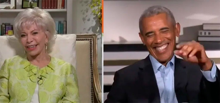 "Isabel Allende a Barack Obama: ""Tú Luces muy HOT"""