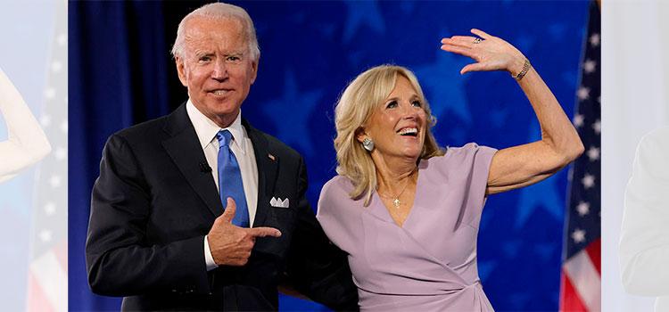 Jill Biden decora el jardín de la Casa Blanca con corazones por Día de San Valentín