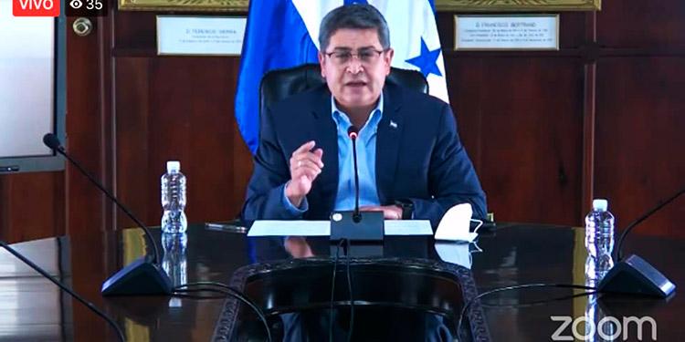 Presidente Hernández envía al CN la 'Ley de Vacunas Gratuitas para todos, contra el COVID-19'