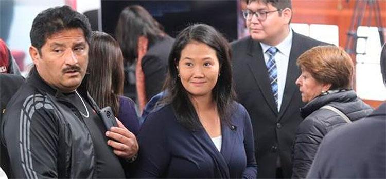 El futuro del partido de Keiko Fujimori queda en manos de un juez peruano