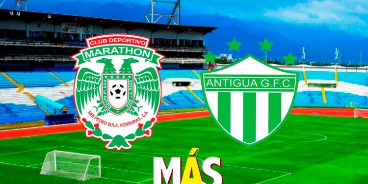 Final: Marathón vence a Antigua y avanza a cuartos de la Liga Concacaf