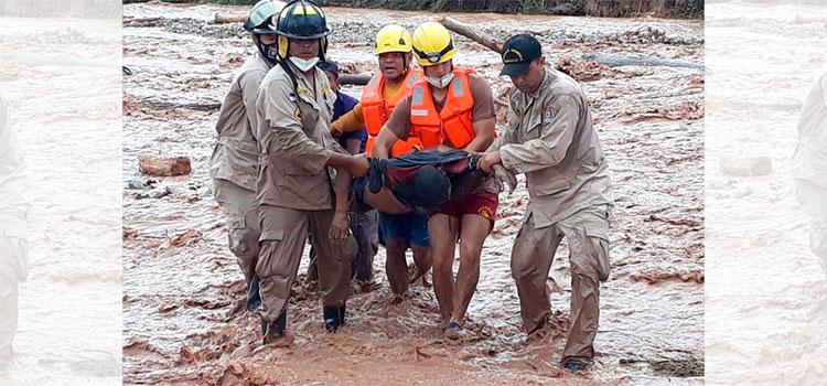 Rescatan cadáver de un hombre del río Machigua