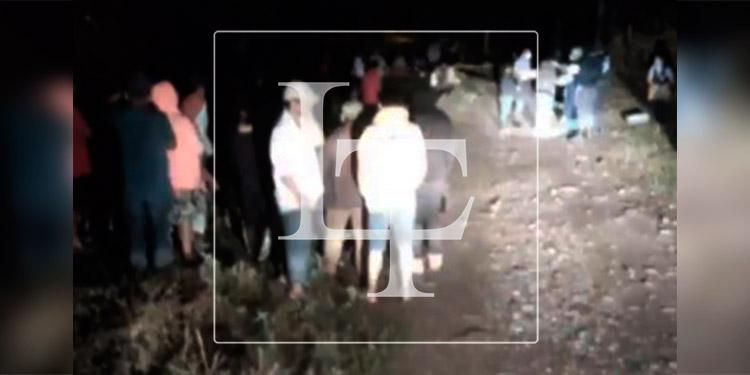 Tres hombres son ultimados a balazos en Comayagua