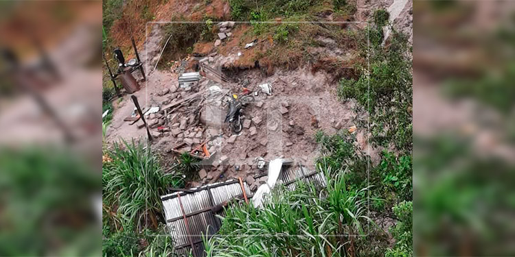 Familia muere soterrada en Ocotepeque