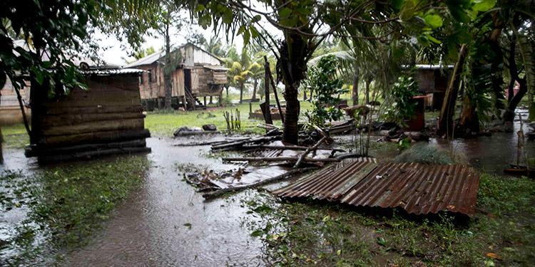 Eta deja un rastro de destrucción en el Caribe de Nicaragua