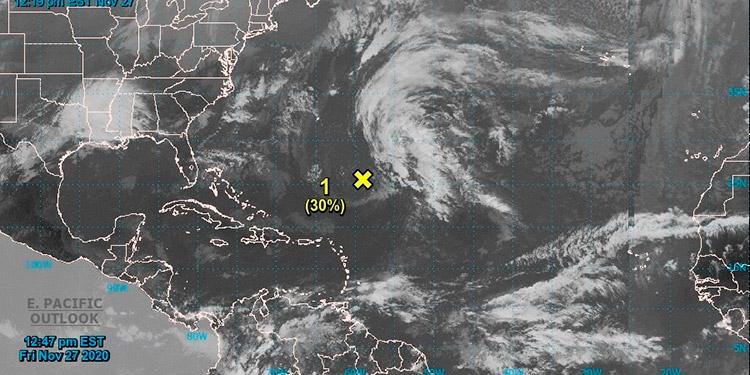 El Atlántico amenaza otra vez a días de cerrar una temporada ciclónica récord