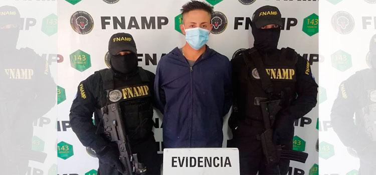Arrestan a supuesto pandillero por extorsión en la colonia Villeda Morales