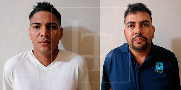 Recapturan a dos de los nueve reos que se fugaron en El Progreso, Yoro