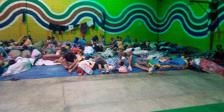 Evacuan a reos del Centro Penitenciario de El Progreso, Yoro