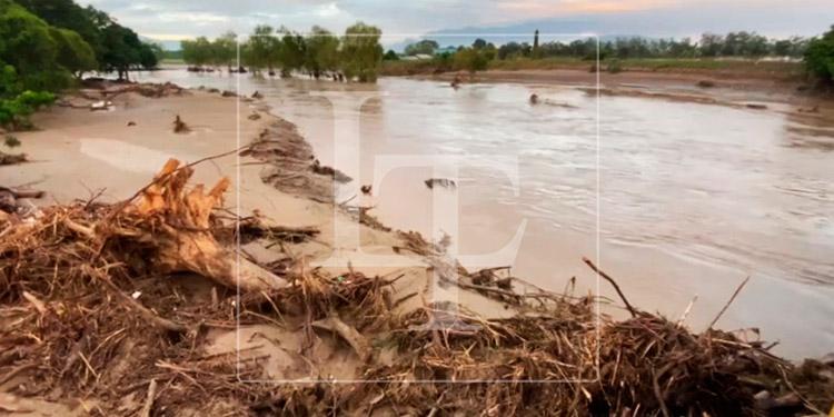 Bajan los niveles del río Chamelecón en La Lima, Cortés
