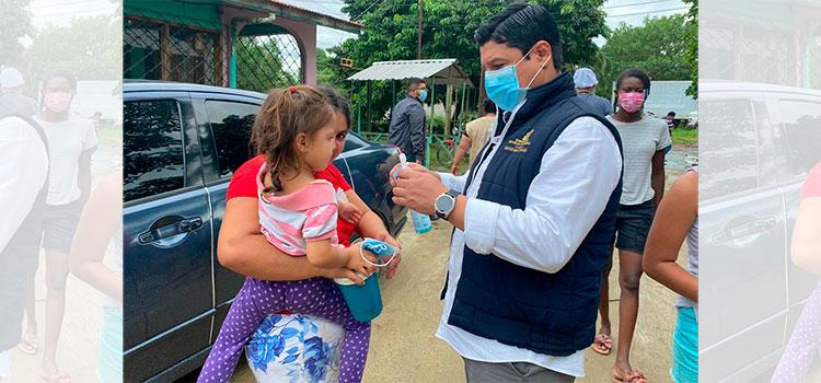 Secretaría de Salud lleva brigadas y triajes móviles a los albergues