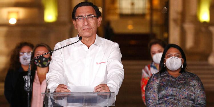 Corte no se pronuncia sobre remoción de expresidente de Perú