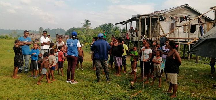 "Sin combustible e insumos en Wampusirpi para afrontar la llegada de ""Iota"""