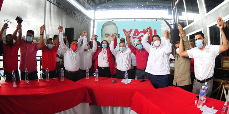 Alcaldes del sur de Francisco Morazán se unen a la corriente de Yani Rosenthal