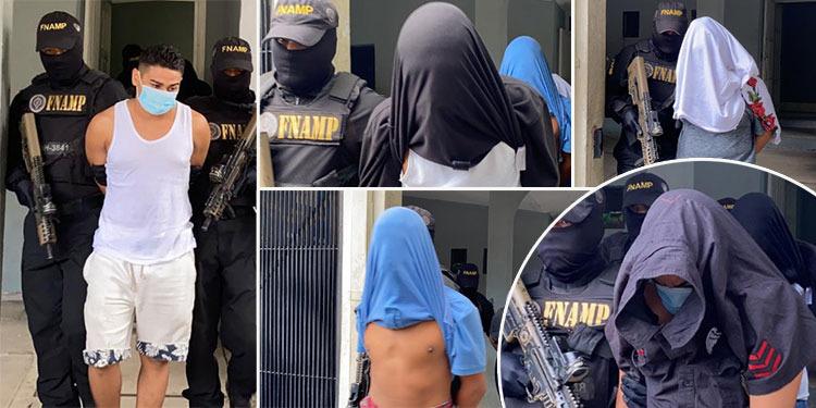 Capturan a cinco miembros de estructuras criminales en la capital