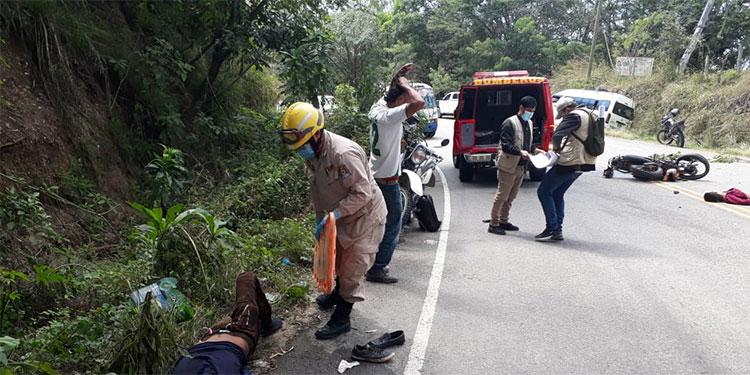 Dieciséis muertos en accidentes en carreteras