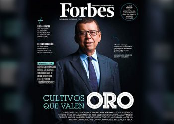 Revista Forbes destaca trayectoria del presidente de Agrolíbano