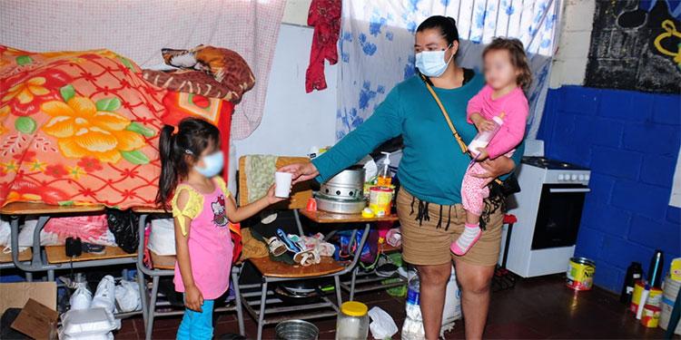 Siete familias sin casa recibirán con llanto el Año Nuevo