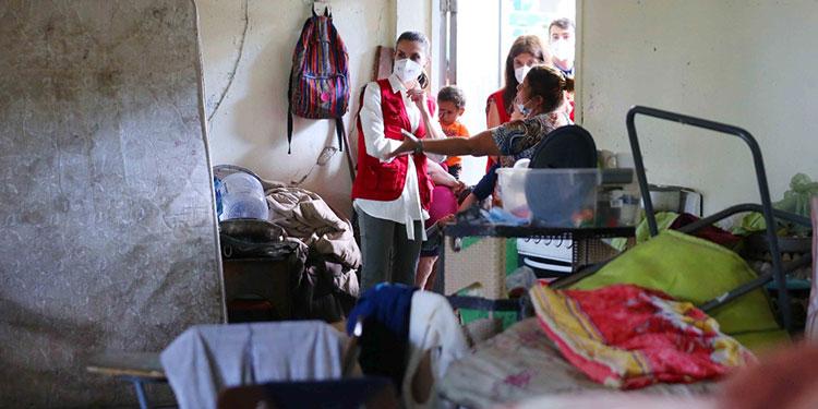La reina Letizia entrega a Honduras ayuda humanitaria