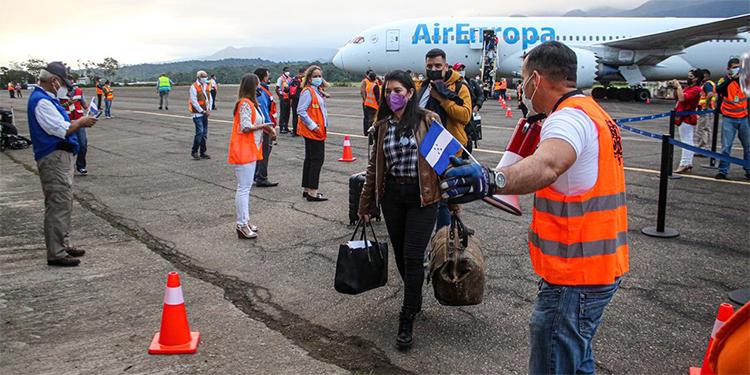 Air Europa reinicia vuelos a Honduras vía La Ceiba