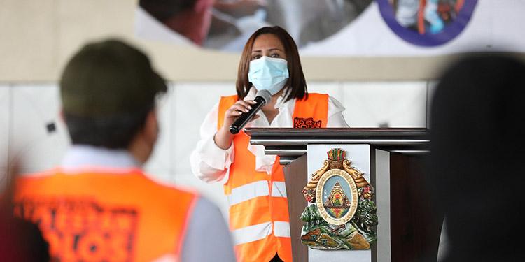 """""""El bono Vida Mejor cambia vidas"""", destacó la ministra de Desarrollo e Inclusión Social, Zoila Cruz."""