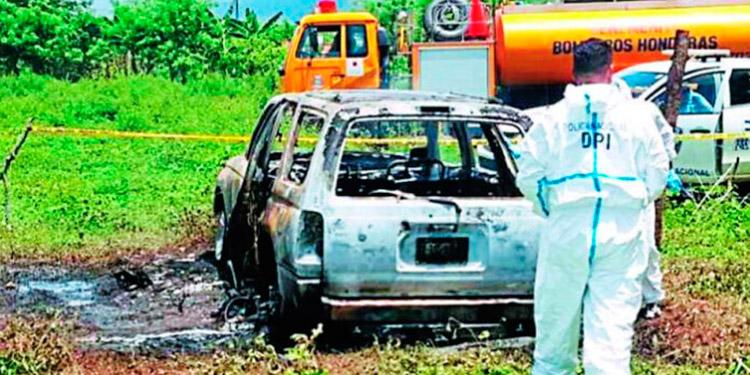 Criminales incineran cadáver de taxista